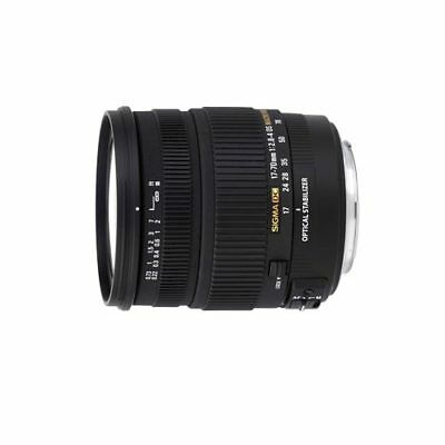 Sigma 17-70mm f/2.8-4.0 DC MACRO OS HSM Lens for Nikon F From EU Nuevo