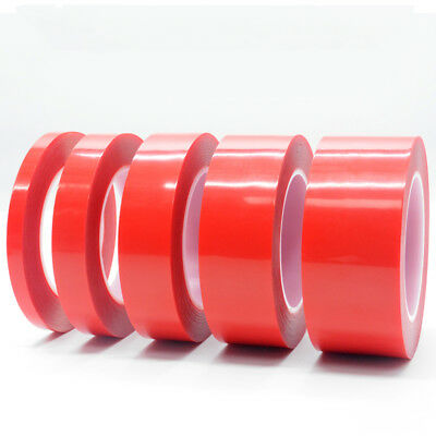 3m Red Film Double-sided Tape Strong Viscosity Acrylicl Transparent NoTrace