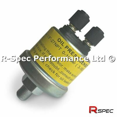 Genuine Oil Press Pressure Gauge Sensor / Sender Unit 1/8 Npt VDO Type 3-160 Ohm