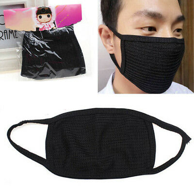 Fashion Unisex Black Health Cycling Anti-Dust Cotton Mouth Face Mask Respirato X