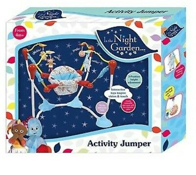 New In The Night Garden Baby Jumper Activity Bouncer Free Christmas Giftwrap £48