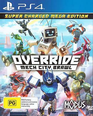 Override Mech City Brawl Super Charged Mega Edition For Sony Playstation 4 PS4