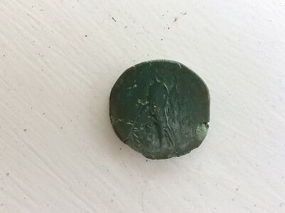 Large Roman Coin Unrestored Metal Detecting Find