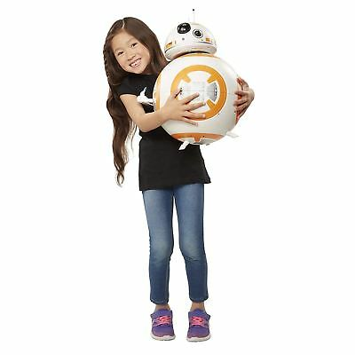 Star Wars - DELUXE BB-8 Figure With LIGHTS & SOUNDS - Big-Figs - NEW