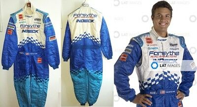 Race used suit 2006 Leonardo Maia Forsythe Champ Car Atlantic