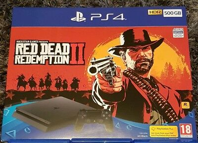 Sony Playstation 4 500GB Console & Red Dead Redemption 2 bundle *Brand New*
