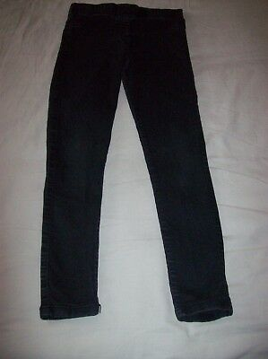Girls Jeggings - Black (F&F 11-12 Years)