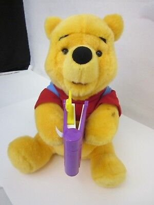 Disney Storybook Winnie The Pooh Plush Talking Toy - Books Included