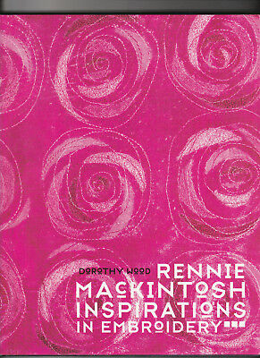 """""""Rennie Mackintosh Inspirations in Embroidery"""" -Art Nouveau Designs from Glasgow"""