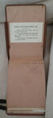 WW1 Officers message pad Royal Dublin Fusiliers
