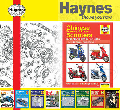 HAYNES SERVICE / Repair Manual for SYM Scooters