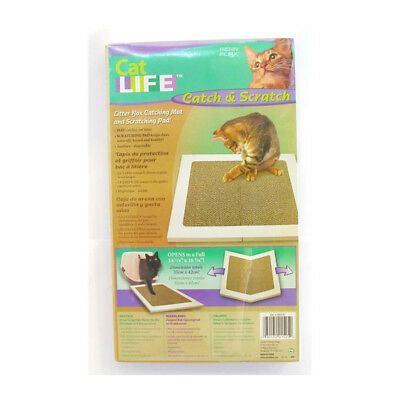 VITAKRAFT Tapis sortie de litiere Catch&Scratch - Pour chat