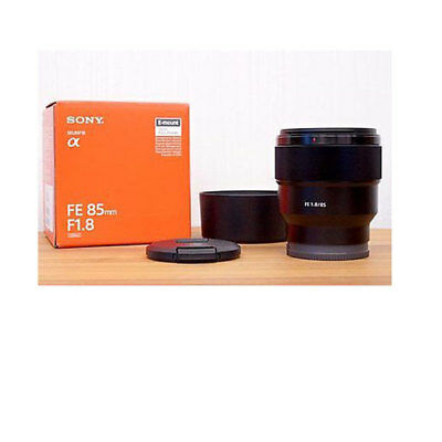 Sony FE 85mm f1.8 SEL85F18 for E-mount From EU Auténtic
