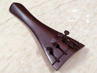 Violin Tailpiece Rosewood Hill Model BUILT IN PUSH ADJUSTER best quality 4/4