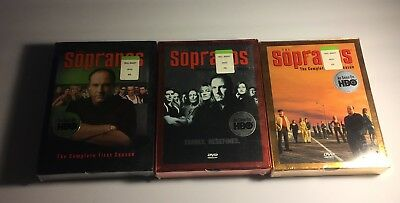 THE SOPRANOS Complete First,Second+Third Seasons DVD Box Sets 1,2,3 HBO Show NEW