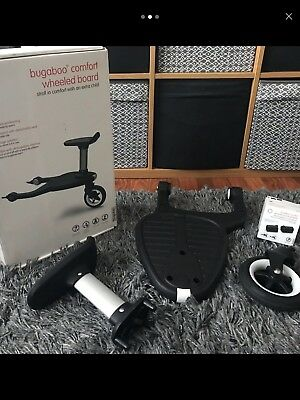 Bugaboo comfort wheeled buggy board with Adapters-  Nearly New