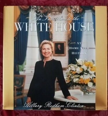 AN INVITATION TO THE WHITE HOUSE SIGNED BY HILLARY RODHAM CLINTON to RUTH