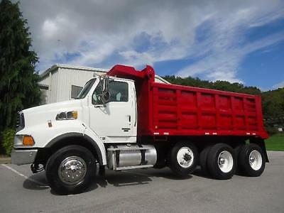 Tri-Axle Dump Truck 15 Ft Steel Dump Bed 450 Hp With Jake Brake , Delivery Avail