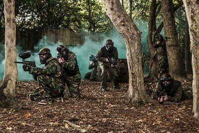 Full Day Paintballing for Two available at multiple locations across the UK