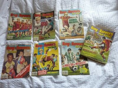 Roy of the Rovers and Hot Shot Comics Ex Cond. x28 Full Set.