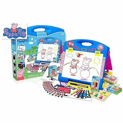 Peppa Pig Table Top Easel Kids Creative Art Toy Ages 3+ NEW