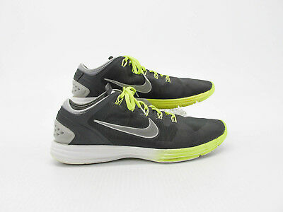 newest a5583 f5191 Nike Lunar Hyperworkout XT Women Gray Athletic Shoes Size 12M Pre Owned DQ