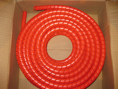 Hydraulic Hose Spiral Wrap Guard 18-24mm Forestry Tractor Hiab digger excavator