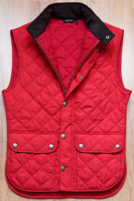 Barbour Lowerdale Quilted Gilet  Men's Vest L RE