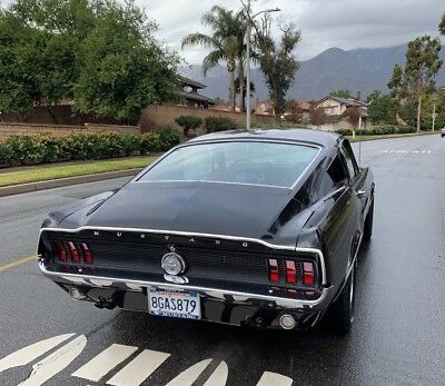 1967 Ford Mustang Fastback Raven black 1967 Ford Mustang Fastback