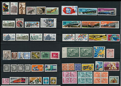 Stamps of Old Germany, DDR, Alliierte Besatzung, used,  great Lot (B 49)