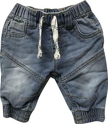 PRE-OWNED Baby Boys Nutmeg Blue Demin Trousers Size Newborn