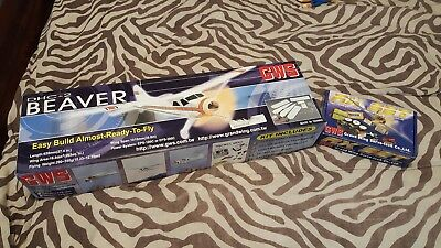 GWS Beaver rare  RC Airplane package!