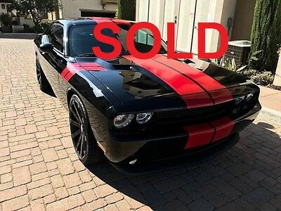 2014 Dodge Challenger RT 2014 MOPAR RT CHALLENGER  CUSTOM Dodge V8 HEMI Black Clean Carfax Auto R/T PLUS