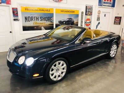 2007 Continental -GTC 1 OWNER TWIN TURBO CONVERTIBLE ORIGINAL MSRP 2007 Bentley Continental for sale!