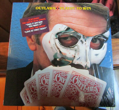 FREE 2for1 OFFER-Outlaws – Playin' To Win : Arista – AB 4205/LP