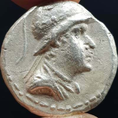 Silver Old Lovely  Roman King Wonderful Coin   15.5 Grams   # 7H