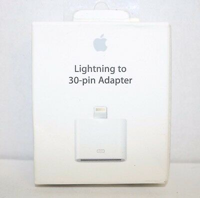Genuine APPLE LIGHTNING TO 30-PIN ADAPTER MD823AM/A A1468