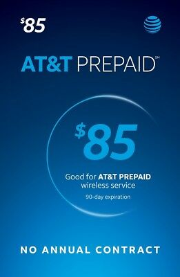 AT&T Prepaid SIM preloaded with $85 plan ULTD DATA (FREE 2 DAYS SHIPPING)