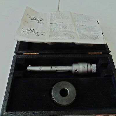 """TESA Dial Bore Gauge  0.5 to 0.6"""" With Calibration Test Ring"""