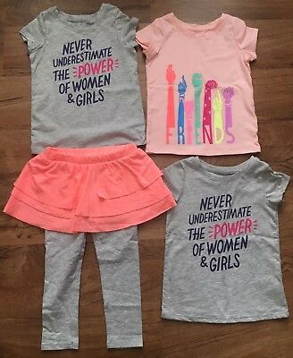 Toddler Girl's 3t Clothing Lot Shirts & Skirted Pants Cat & Jack New