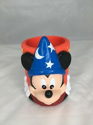 Walt Disney World 25th Anniversary Mickey Mouse Sorcerer Beverage Can Koozie NEW