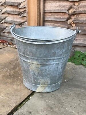 Galvanised Bucket Vintage