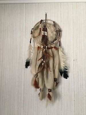 native american dream catcher collection, art , wall decor, vintage , Peace Pip