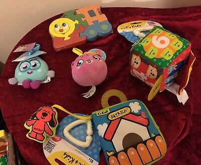Bundle -soft Book Puzzle  Activity Square Ect Toddler Baby Toys BA 8