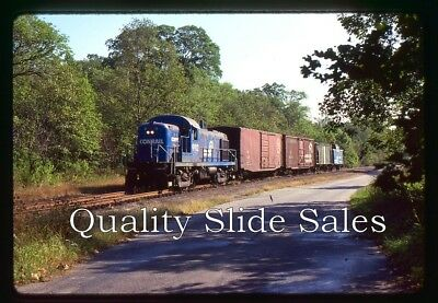 CA537 Orig. Slide Conrail 9912 RS3M Action On Local in 1980