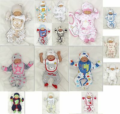 NEW 5 Piece Set Baby Starterset First Outfit Romper 50 56 62 68 englandmode