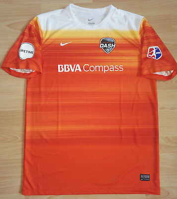 Houston Dash Home Trikot, Nike, Größe L - NWSL, MLS, Houston Dynamo