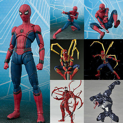 Marvel Avengers Spider Man Homecoming Spiderman PVC Action Figure Model Toy Gift