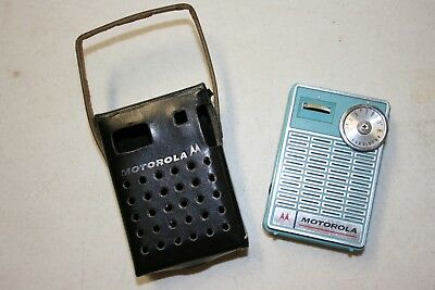 Vintage And Unique Miniature Motorola Portable Transistor Radio - Parts/Repair