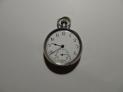 antique silver pocket watch spares or repairs running